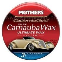 Cera Cristalização Carnauba Pure Wax Pasta Brilho Pintura Ok