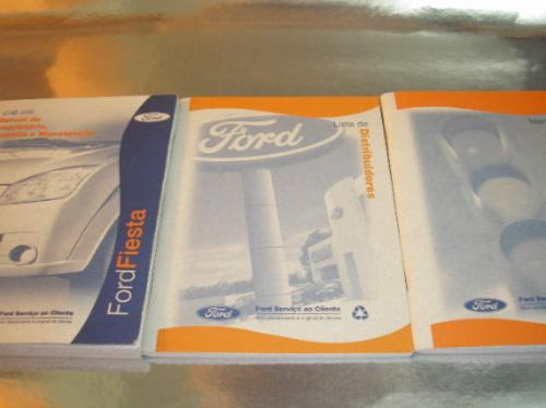 ( L - 260 / 03 ) Manual Do Proprietário Ford Fiesta 2007