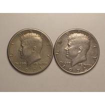 Usa) Half Dollar - 1971-d / 1972 Kennedy