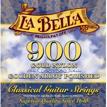 La Bella 900 Elite | Encordoamento P/ Violão Nylon