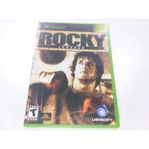 Jogo Xbox Primeira Geração - Rocky Legends Completo