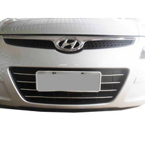 Friso Cromado Para Choque Inferior Grade Hyundai I30