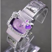 Relogio Bracelete Elegante Hello Kitty