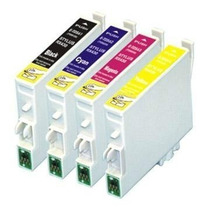 Kit 4 Cartuchos Epson To32 - To32120 - To32220 - C70 Cx5200