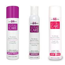 3 Vital Care Hair: Spray 24h, Mousse 21 E Spray 18h Original