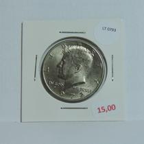 Moeda Eua Half Dollar 1972 Letra D Kennedy - Lt0793