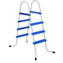 Escada Para Piscina Inflável 3 Degraus Ponteira Emborrachada