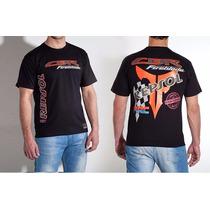 Camiseta Esportiva Masc. Moto Repsol Cbr Limited Top Force