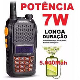 Radio Ht Walk Talk Dual Band Uhf Vhf Fm Baofeng Uv6r 7w