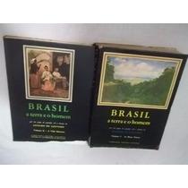 * Livro Brasil A Terra E O Homem Aroldo Azevedo 2 Volumes
