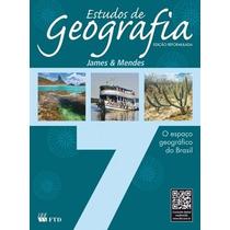 Livro Estudos De Geografia 7º Ano Editora Ftd