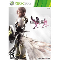 Final Fantasy Xiii-2 13-2 Xbox 360 Novo Lacrado Nota Fiscal