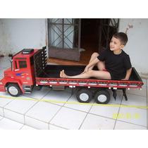 Caminhão De Madeira Mercedes Benz L1620