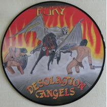 Desolation Angels Fury Picture Disc Valhalla Iron Maiden