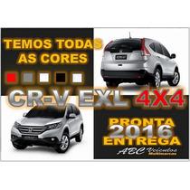 Honda Crv Exl 2.0 Flex 4x4 Automatica - Ano 2016 - Zero Km