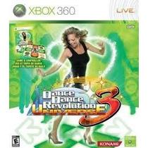 Tapete Dance Dance Revolution Para X-box 360+jogo