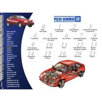 Manual Catalog Eletronic Peça Gm Chevrolet Todos Ate 2006