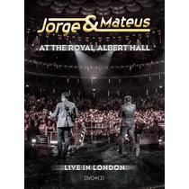 Kit Dvd + Cd Jorge & Mateus At The Royal Albert Hall Lacrado