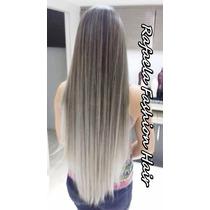 Alongamento Tic Tac Ombre Hair Loiro / 65 Cm / 130 Gramas.