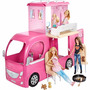 Barbie - Novo Mega Trailer Pop-up Camper - Mattel Cjt42
