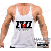 Regata Super Cavada Tank Top Zyzz Musculação