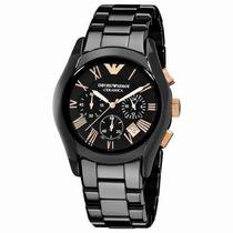 Relógio Emporio Armani Ar1410 Cerâmica Original Frete Free