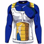Rash Guard Dragon Ball Goku Vegeta Armour Mma Bjj Jiu Jitsu
