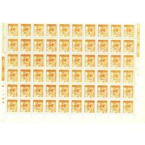 Folha Inteira 110 Selos- Girassol- Nova Goma -n. 632