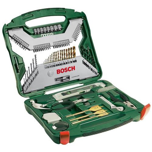 Kit 103 Peças C/ Brocas, Chaves, Alicates - Xline Bosch