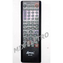 Controle Remoto Para Dvd Player Lenoxx Sound Rc-201