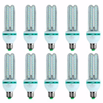 Lâmpadas Led Kit C/10/ 20w Bivolt Soquete E27 90% Econômico