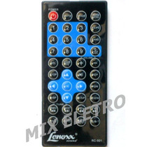 Controle Remoto Dvd Player Automotivo Lenoxx Sound Ad-1829