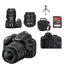 Câmera Nikon D3200 Kit 18-55mm+cartão 32gb +bolsa+bateria
