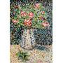 Pintura Vaso De Flores (óleo Sobre Tela) Tiago Sinhor