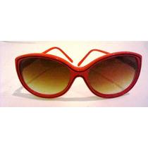 1667 Óculos Escuro Feminino. Made Taiwam. Mede 14 Cm De Larg