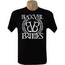Camiseta Bandas Rock Black Veil Brides Tradicional Masculina