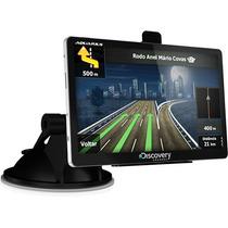 Gps Discovery Channel Mtc 3752 Slim Tela 5 + 64 Gb Brinde!