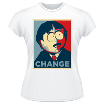 Baby Look South Park Change Randy Marsh Camiseta Camisa Kyle