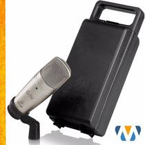 Microfone Condensador C1-u Behringer Usb Frete Gratis