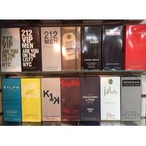 Lote Kit 12 Perfumes Importados Contratipo Mais Vendidos