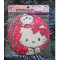 Lindo Mouse Pad Da Hello Kitty 18 Cm Redondo