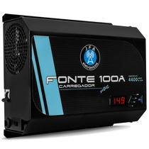 Fonte Automotiva Digital Jfa 100a Carregador Bateria Bivolt