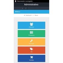 Sistema De Vendas E Ordem De Serviço Online Responsivo - Php