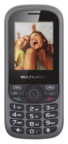 Celular Multilaser Dual Chip Quadriband Rádio Fm Mp3 / mp4 P32