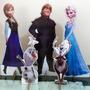 5 Display De Chão Frozen Totem Painel Cenário