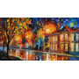 Painel Grande Obra De Arte 75cmx137cm Tela Leonid Afremov #8