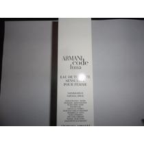 Perfume Feminino Giorgio Armani Code Luna 50ml Tester