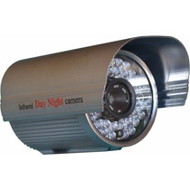 Câmera Lente De 16mm E 36 Super Leds Identificação Veículos