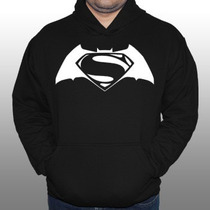 Blusa De Moleton Batman Vs Superman Heróis Filme - Moletom