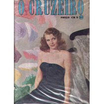 O Cruzeiro 1947.rita Hayworth.carnaval.cavalhada.lauren.moda
